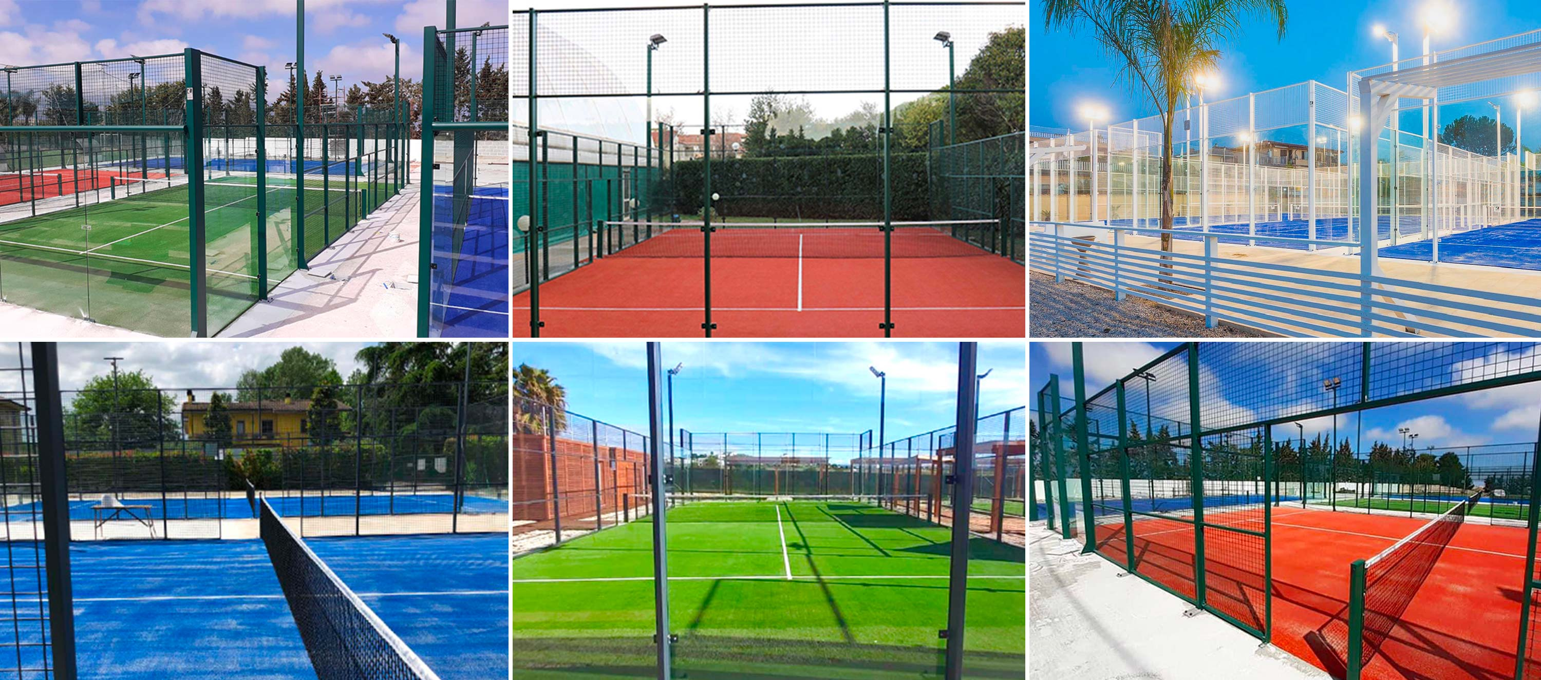 FIELDS FROM PADEL